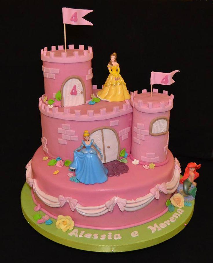 Disney princess - Castle cake