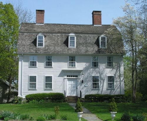 134 Best 18th Century American Homes Exterior Images On