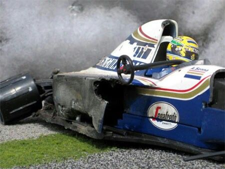 Senna Imola 1994, or the most tragic car crash in the history of motor racing...RIP AYRTON✔️