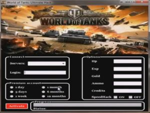 World Of Tanks Gold Hack Cheat [HP adder, XP adder, ammo adder, credits adder] updated