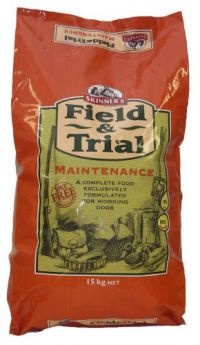 £15.26 - Field & Trial Maintenance contains easily digestible chicken providing the correct level of protein for the maintenance of strong muscles, teeth and bones. Specially formulated to meet the needs of working dogs undertaking light work or during the close   season.