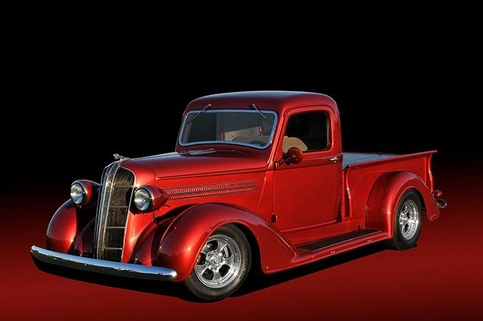 1936 dodge pickup truck red white and blue pinterest. Black Bedroom Furniture Sets. Home Design Ideas