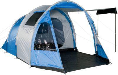 Fridani Camping-Zelt TSB 400 Tunnelzelt mit Schlafkabine für 4 Personen Outdoor Familienzelt mit Wohnraum, Belüftung, Stehhöhe, wasserdicht mit 3000mm Wassersäule Jetzt bestellen unter: https://moebel.ladendirekt.de/kinderzimmer/betten/baldachine/?uid=dfeeb9ec-450e-5602-9049-93021fd6123a&utm_source=pinterest&utm_medium=pin&utm_campaign=boards #ern #baldachine #kinderzimmer #betten Bild Quelle: gartenxxl.de