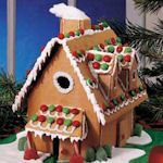 12 free gingerbread house templates