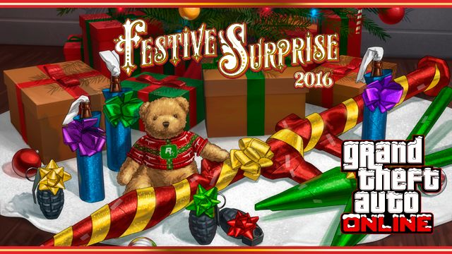 The GTA Online Festive Surprise 2016 Plus New Truffade Nero Supercar & More - Rockstar Games #GrandTheftAutoV #GTAV #GTA5 #GrandTheftAuto #GTA #GTAOnline #GrandTheftAuto5 #PS4 #games