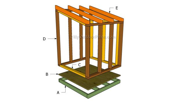 Generator Shed Plans Free Outdoor Plans Diy Shed