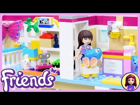 Lego Friends Custom Baby Nursery Play Room For Triplets Diy Build