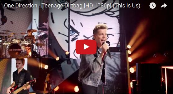 Watch: One Direction - Teenage Dirtbag See lyrics here: http://onedirection-lyric.blogspot.com/2014/04/teenage-dirtbag-lyrics-one-direction.html #lyricsdome