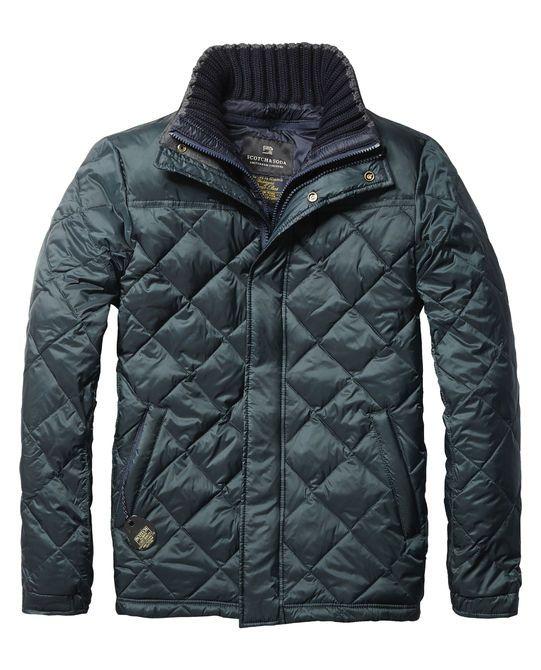 Rib Collar Jacket | Jackets | Men's Clothing at Scotch & Soda
