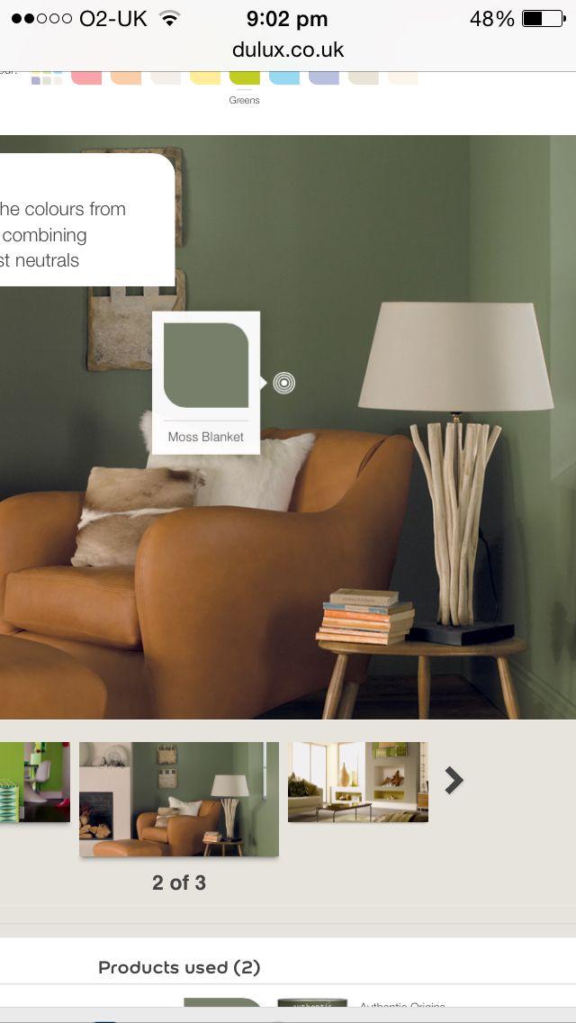 Love this green..... Livingroom
