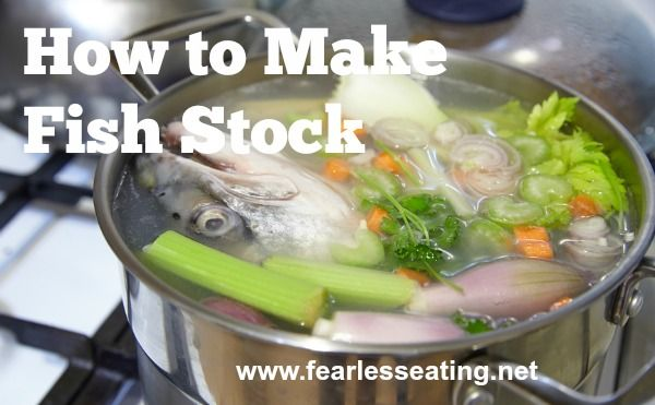 How to Make Fish Stock   www.fearlesseating.net