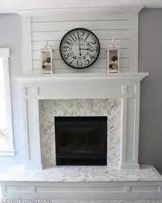 shiplap Fireplace - Bing images