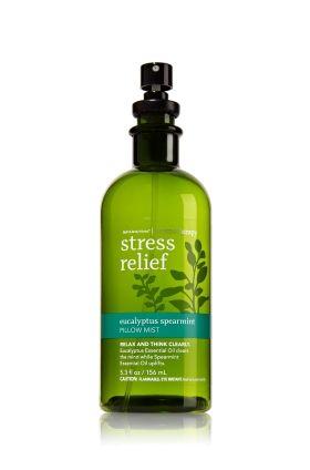Aromatherapy Stress Relief Eucalyptus And Mint Pillow