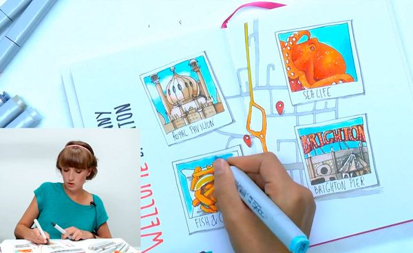 18 бесплатных мастер-классов преподавателей Школы рисования Вероники Калачевой | Школа рисования для взрослых Вероники Калачёвой — Kalachevaschool | Обучение вживую в Москве и онлайн по всему миру