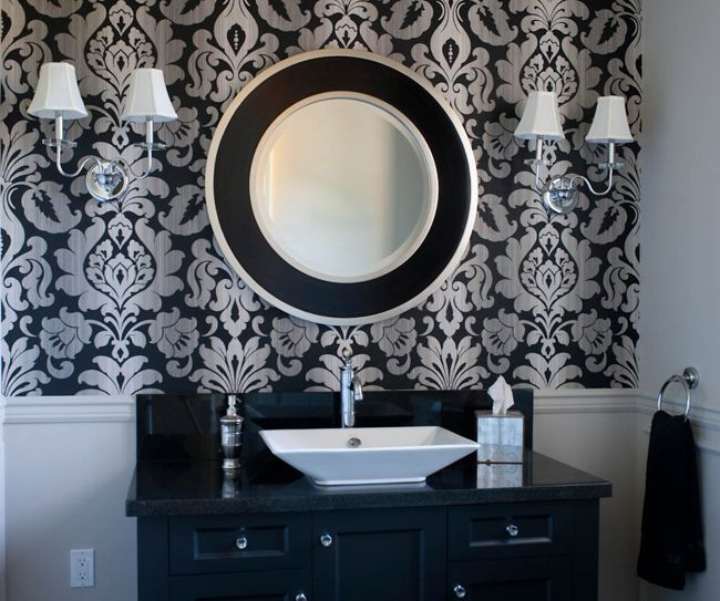 25+ best ideas about Damask wallpaper on Pinterest  Gold damask wallpaper, Grey damask