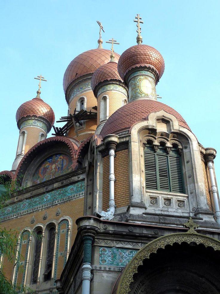 https://flic.kr/p/6YyGJ8 | Bucureşti - Bukarest 17 Russisch Orthodoxe Kirche