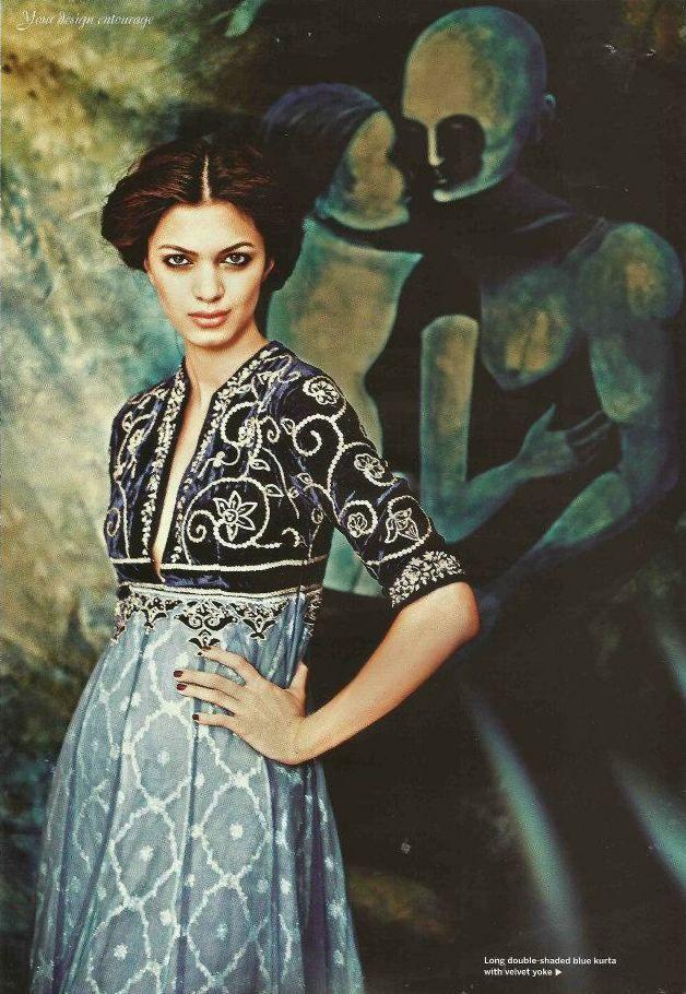 I love empire waists    Indian - Pakistani clothing - Outfit by:Anju Modi
