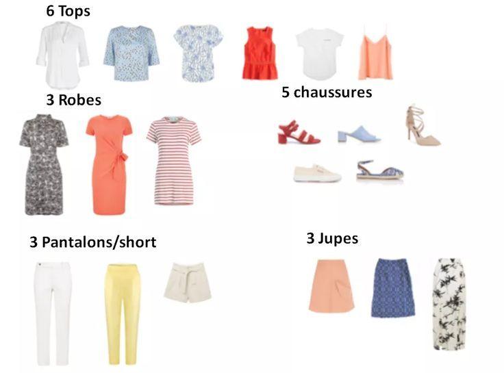 20 Pieces Pour Une Garde Robe Capsule Coloree D Ete Robe Coloree Garde Robe Capsule Idees De Mode