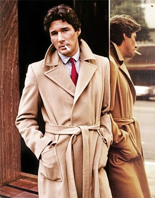The Louche Lines of the Camel Hair Wait Coat: Richard Gere.