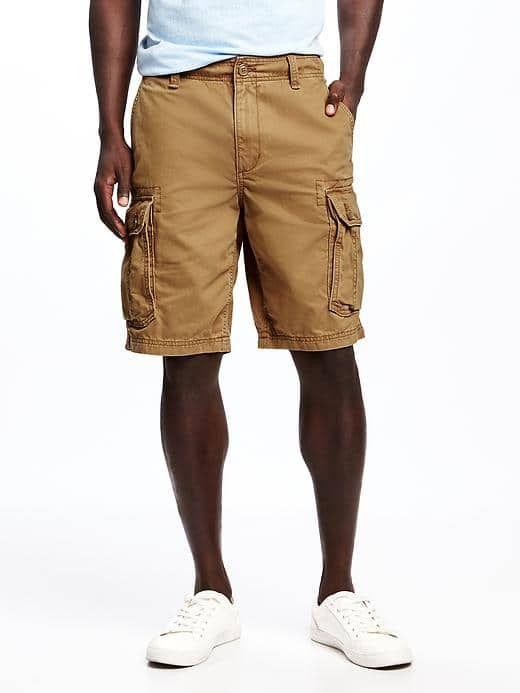 "Broken-In Cargo Shorts for Men (10"") | Old Navy"