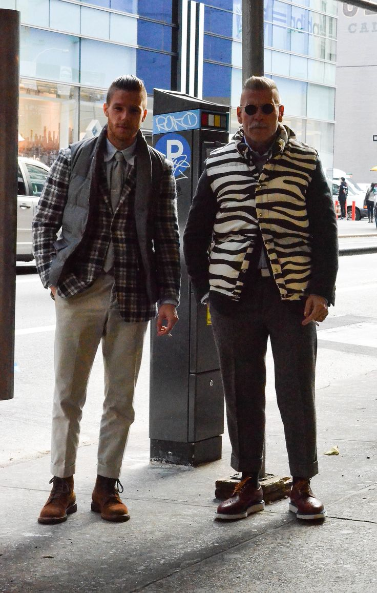 gmenweardaily:  Nick & Lance…double threat!