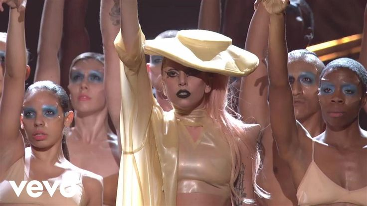 """Lady Gaga - """"Born This Way"""" -  (GRAMMYs on CBS) - Lady Gaga performs """"Born This Way"""" live At the 53rd Annual GRAMMY Awards. (C) 2011 The Recording Academy"""