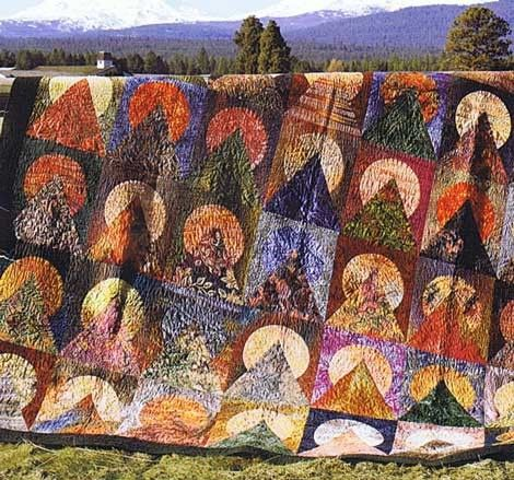 65 best Moon Over The Mountain Quilts images on Pinterest ... : mountain quilts - Adamdwight.com