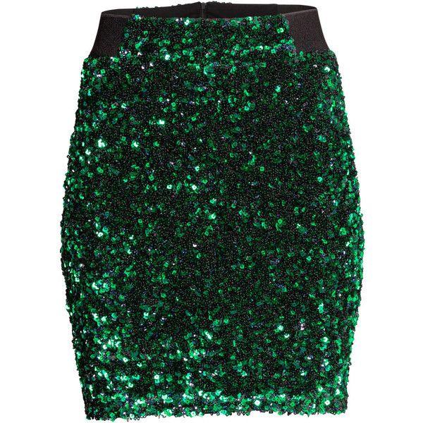 Best 25  Green Sequin Skirt ideas on Pinterest | Sequin skirt ...