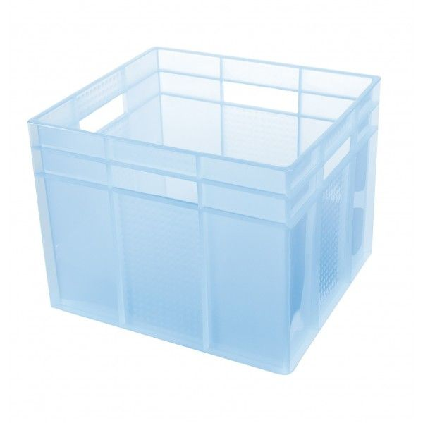 This sturdy plastic stackable cube is ideal for sorting and storing items in the office, laundry, garage or garden shed. �Colour choices available are Black, Blue, Geen, Red, Tint Blue, Tint Clear, Tint Green, Tint Pink or Tint Purple.32 D x 35 W x 29 H cm�This product is only available to pick up in store when ordered on line.