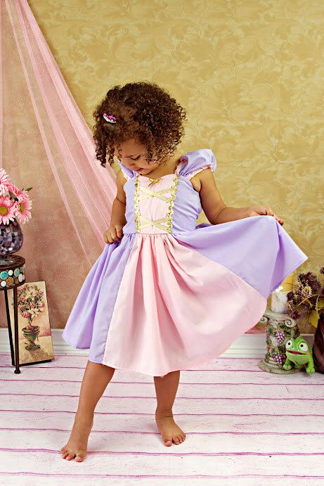 RAPUNZEL costume dress princess dress for toddlers and girls fun for special occasion or birthday party costume by loverdoversclothing on Etsy https://www.etsy.com/listing/163502767/rapunzel-costume-dress-princess-dress