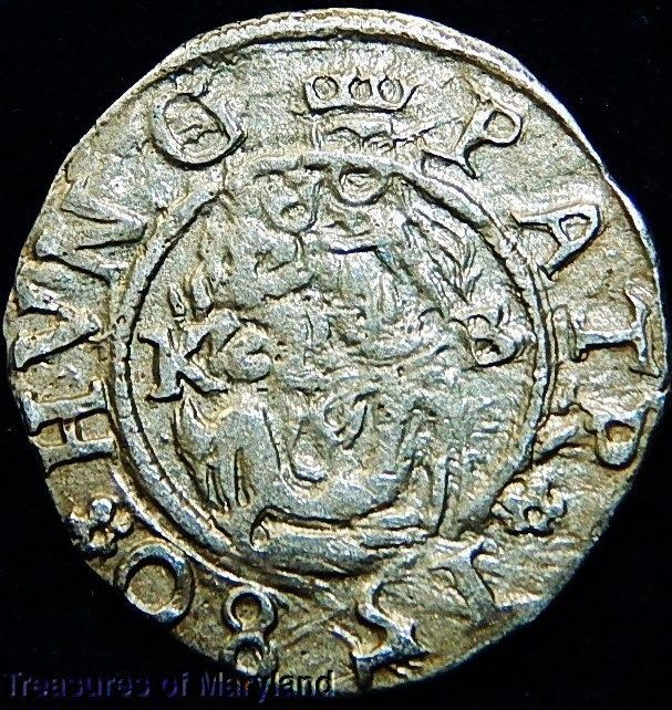 EXCELLENT! 1580 MARY HOLDING BABY JESUS HUNGARIAN DENAR! sku #IW2