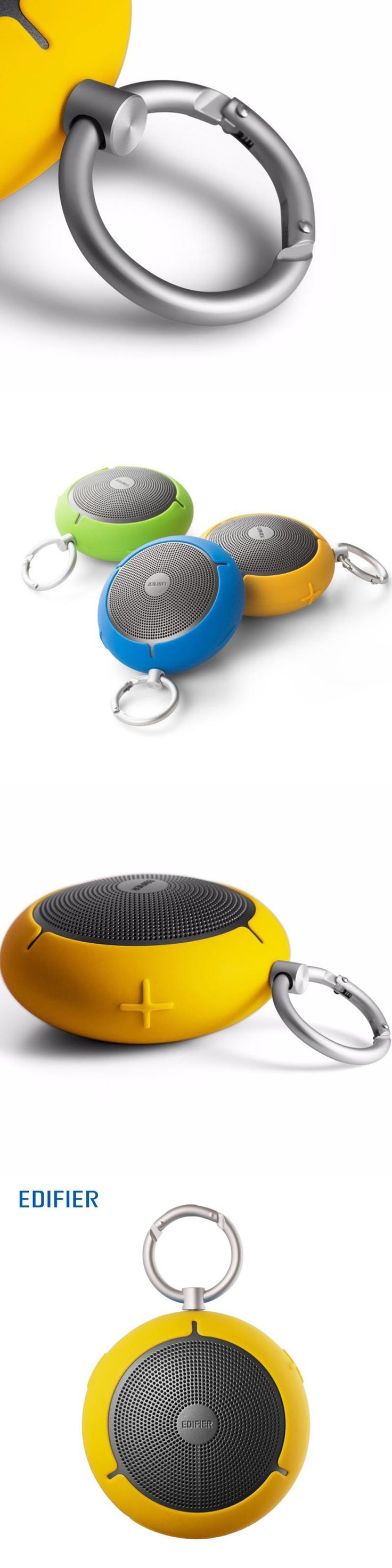 Edifier MP100 Portable Bluetooth Speaker Wireless Dust Proof & Splash Proof Speaker MicroSD Functionality Powerful Speakers