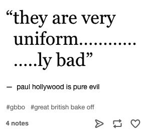 "24 Jokes About ""Bake Off"" That Are Funny And True"