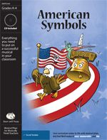 American Symbols -- a fun and easy musical classroom play for grades K-4, by Bad Wolf Press. This 15-to-25-minute social studies play can be done as a complete play, skits, reader's theater, or you can just sing songs. No music or theater experience needed for this fun patriotic show!