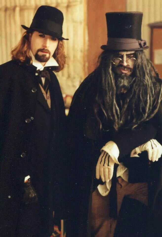 Rob Zombie, Living Dead Girl video shoot.