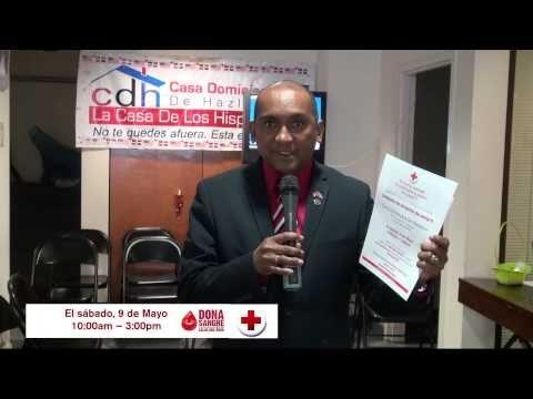 CDH DONACION DE SABGRE CRUZ ROJA AMERICANA MAYO 09