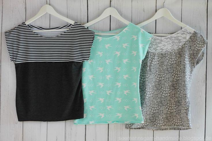 kimono tee ideas by seemannsgarn pattern by maria denmark. Black Bedroom Furniture Sets. Home Design Ideas