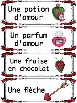 Vocabulaire de la Saint Valentin