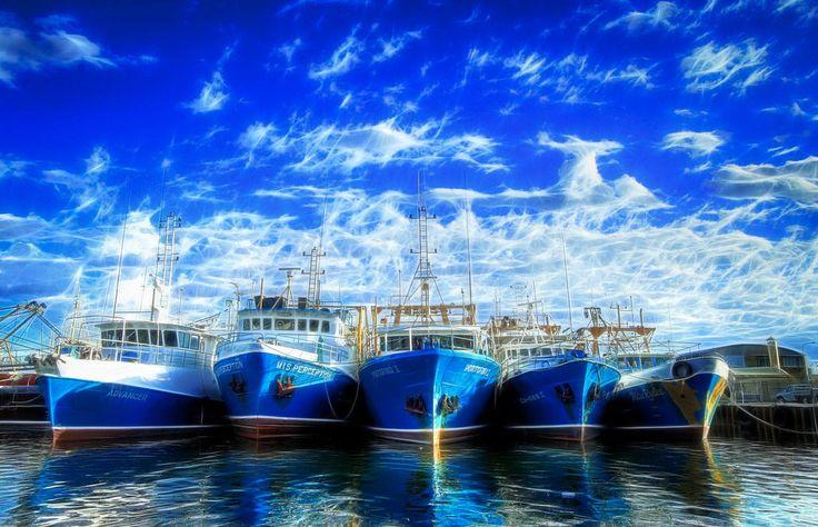 Fishermans Boat Harbour, Fremantle Western Australia