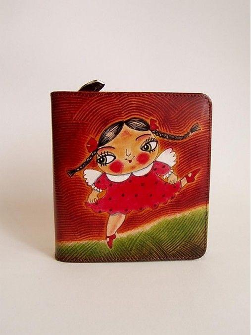 ArtToWear / Peňaženka - Malá tanečnica
