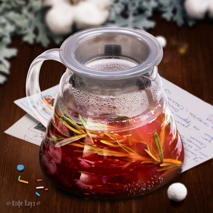 На улице холод и слякоть, а у нас в кофейне – горячий Шишкин чай с ароматом…
