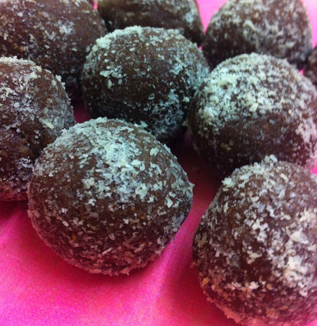 Raw Chocolate Orange & Almond Truffles #vegan #glutenfree #raw