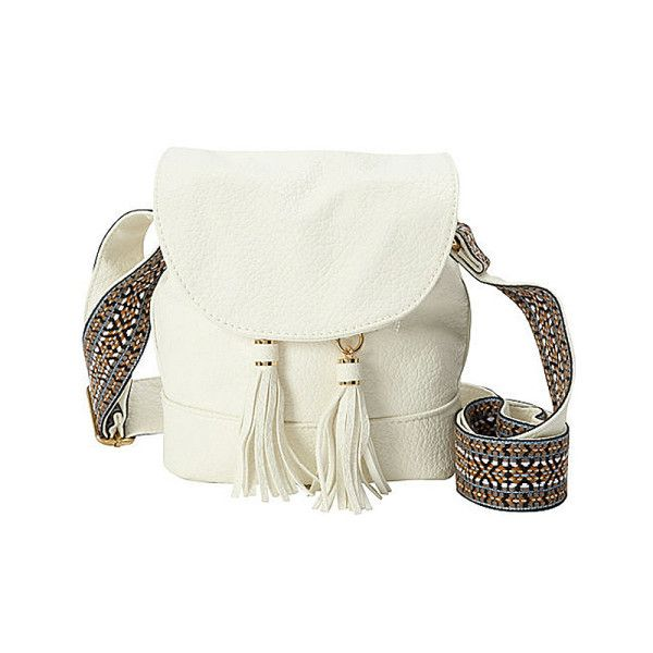 Whether at a festival, at work, or class, this Kensie Crossbody Bag adds the perfect bohemian touch to any outfit.