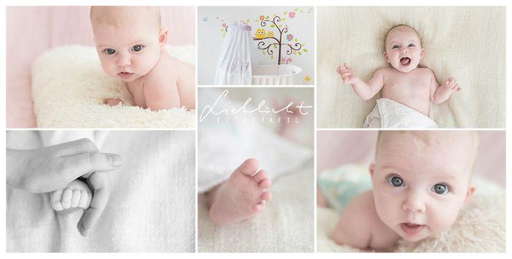 So ein fröhliches 3 Monate altes Baby. Lustig wars little girl!! #lieblichtfotografie   #rosa  #wien #neugeborenenfotografin#lovemywork #dreamy
