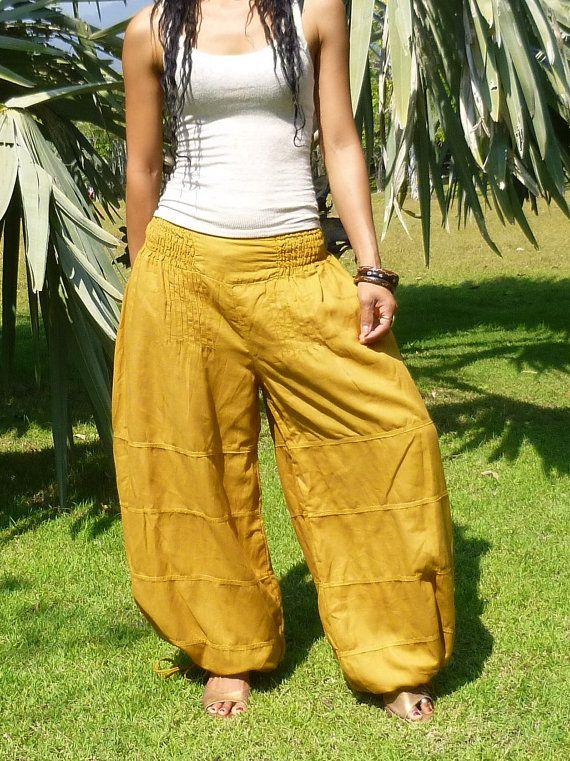 Salwar Pants * Aladdin Pants * Genie Pants * Harem Pants * Travel Pants * Baggy…