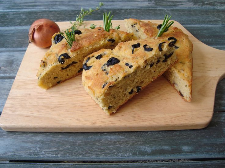 glutenvrij olijvenbrood