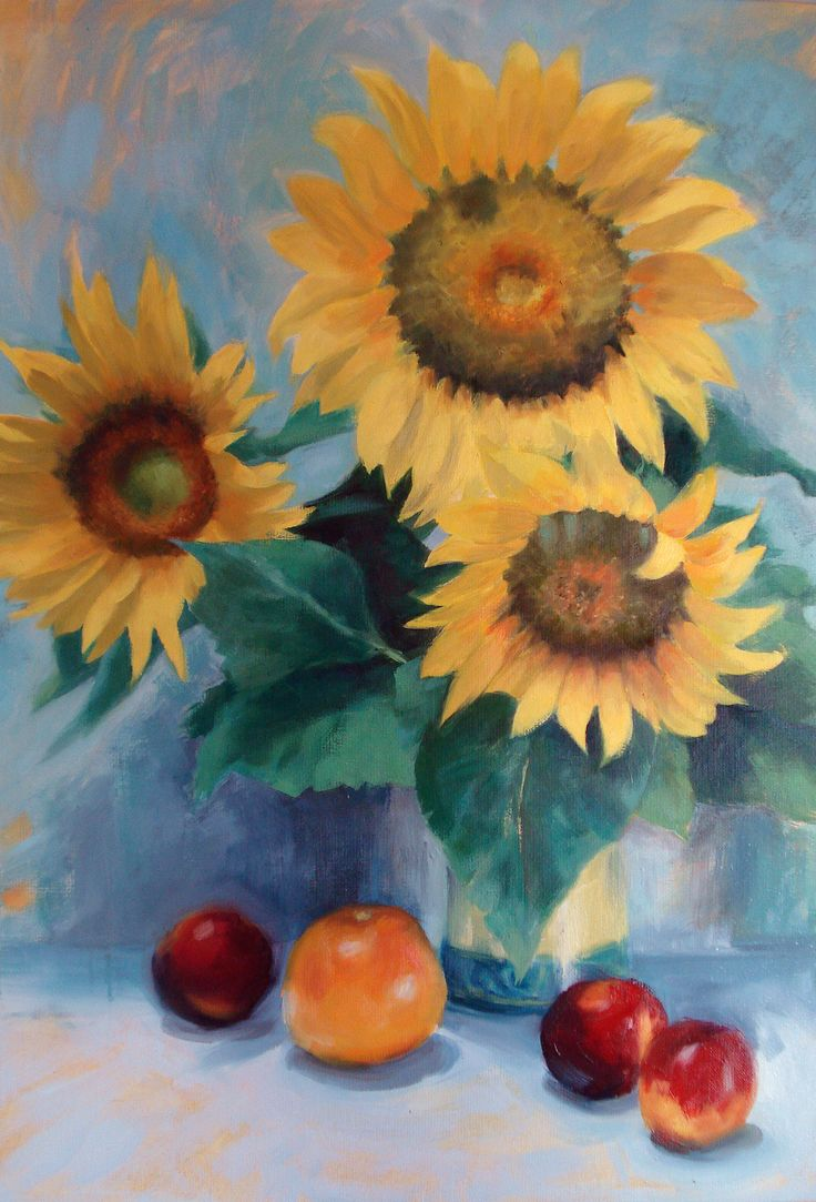 """""""Summer"""" oil painting"""