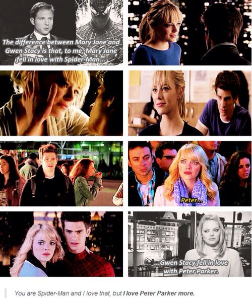 peter parker and gwen stacy relationship memes
