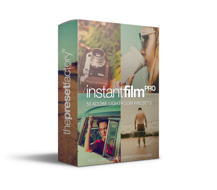 Instant Film PRO - Lightroom Presets - CM 554581