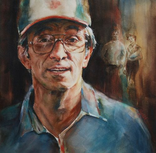 Painting peggi habets studio regis habets pinterest for How to paint a portrait in watercolor